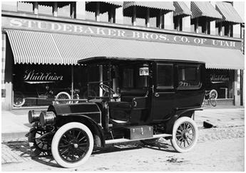 First-ever motorized limousine