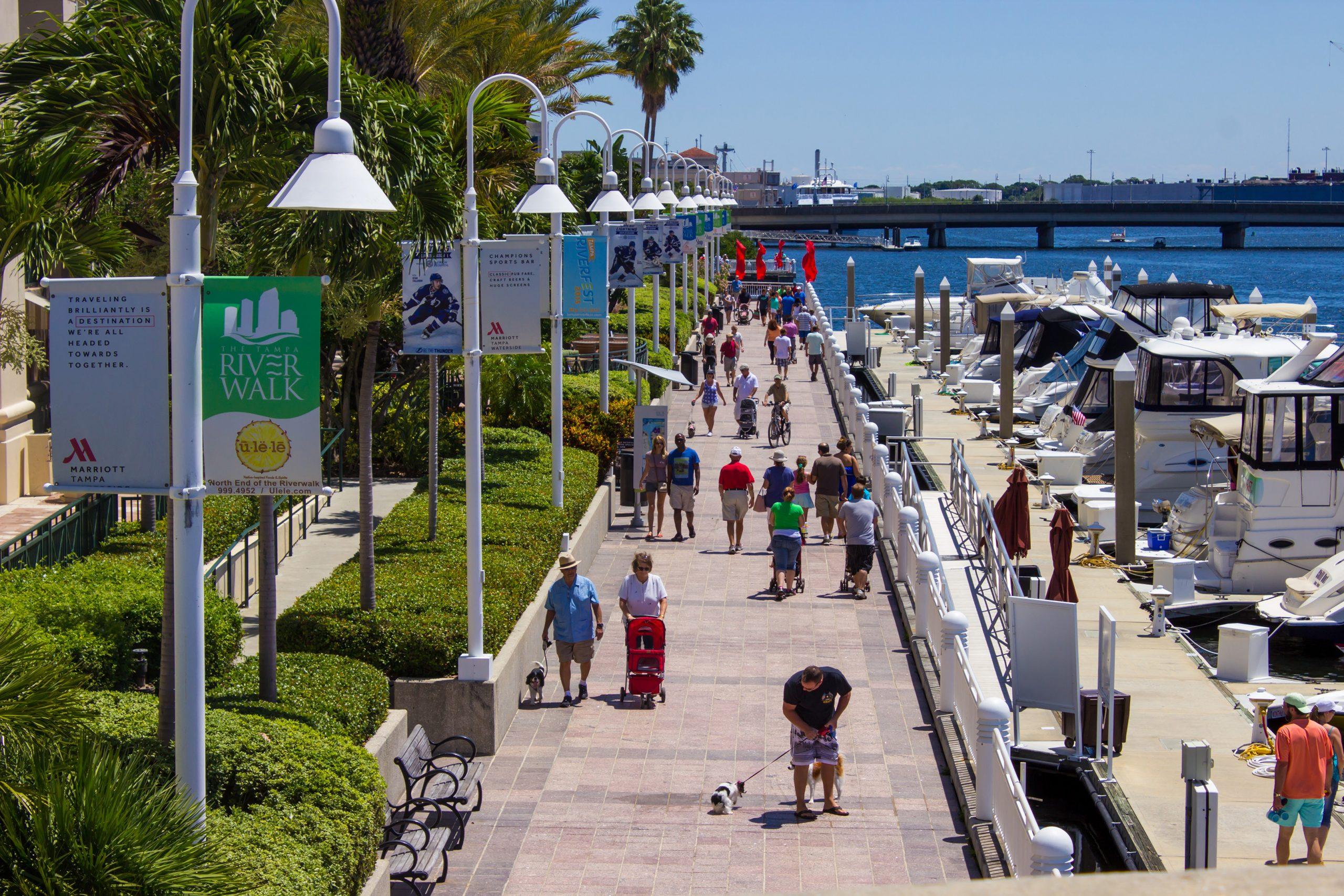 Tampa, Florida - Riverwalk
